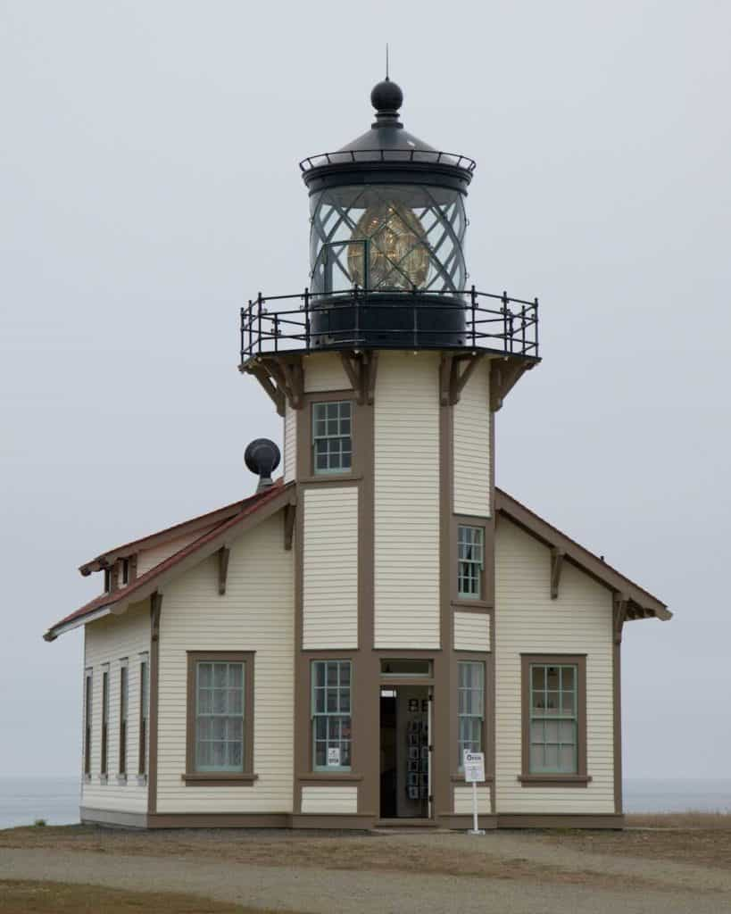 Image: Point Cabrillo lighthouse - Mendo Insider Tours