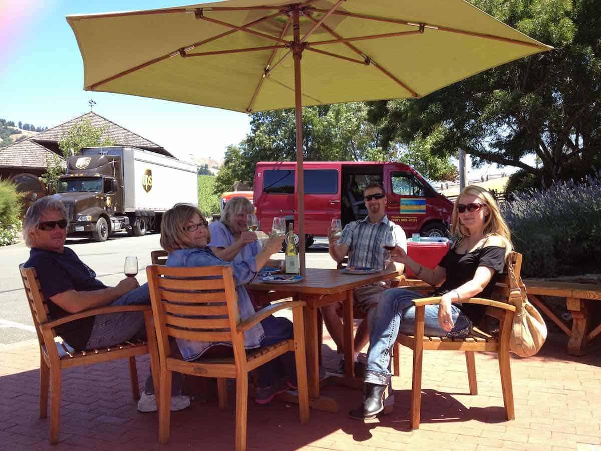 Image: Wine tour - Mendo Insider Tours